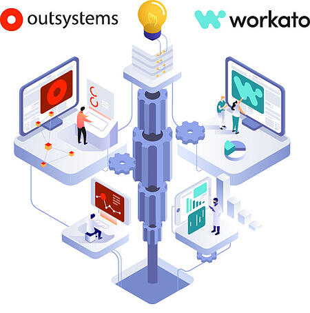OutSystems and Workato technologies