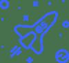 rocket-blue